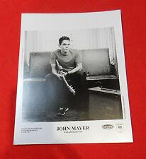 John Mayer Aware Records 2001 Bio/Press Photo Josh Kessler Original Look