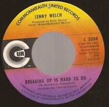 "Lenny Welch ""Breaking Up/Get Mommy To Come Back"" 7"" Vinyl Northern Soul Modern"