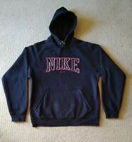 Vintage Nike spell Out Centre Logo Hoodie