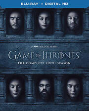 Game of Thrones: The Complete 6th Season (Blu-ray Disc, 2016, 4-Disc Set) NEW