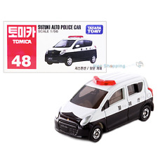 Takara Tomy Tomica #48 Suzuki Alto Police Car Scale 1/56 Diecast Car Vehicle Toy