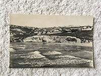 Postcard showing vintage scene of Newquay from the 1960's