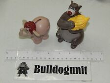 Baloo & Hathi Jr Jungle Book Candy Holder McDonalds Happy Meal Toy Lot 1997