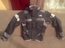 North Face Steep Track Women Down Winter Jacket Size L Good Condition Grey/black