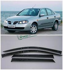 For Nissan Almera N16 Sd 2000-2006 Window Visors Sun Rain Guard Vent Deflectors