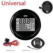 Universal MPH SOG COG ODO TRIP Meter compass Fr Car Truck Motorcycle km/h 12/24V