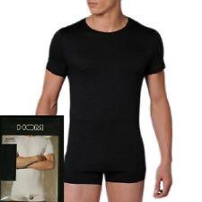 Tee shirt manches courtes HOM Business First cotton noir Taiile M
