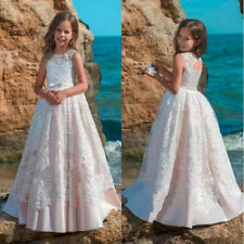 2021 New Flower Girl Dresses Communion Party Prom Princess Pageant Bridesmaid