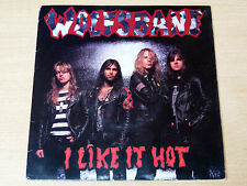 "EX-/EX- !! Wolfsbane/I Like It Hot/1989 Def American 7"" Single"