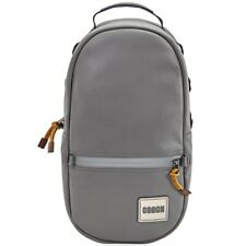 Coach Mens Pacer Smooth Leather Heather Grey Backpack with Coach Patch 78829