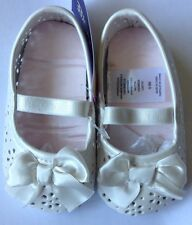 Baby Girl Ballerina Flats Crib Shoes 6-9 Months Infant Mary Jane Shower Gift