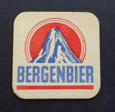 Ancien sous-bock bière beer bier BERGENBIER montagne coaster Bierdeckel 2