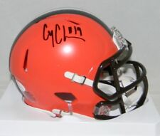 COREY COLEMAN AUTOGRAPHED SIGNED CLEVELAND BROWNS SPEED MINI HELMET JSA