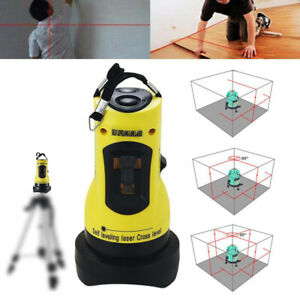 360° Degree Rotary Laser Level Self-Levelling Cross Line Measuring Magic af