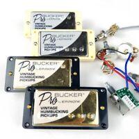 Electric Guitar Humbucker Chrome LP Standard Pro Bucker N and B Pickups - 1 SET
