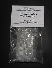 CCM GROUP 2007 LIMITED EDITION of 500 MINIATURE - ORC MOUNTED ON WAR KANGAROO
