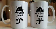 My Best friend is a Cat 11oz ceramic mug Great gift for him/her  novelty