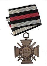 E4710WWI German Honor Cross Hindenburg Ehrenkreuz company O. 11 material iron