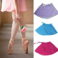 Fashion Skate Wrap Women Tutu Skirt Chiffon Ballet Dance Dress