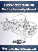 1955-1959 Chevrolet Truck Factory Assembly Manual for Chevy Pickups