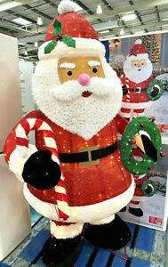 Twinkling Pop-up 6ft Christmas Santa 280 LED Lights Indoor Outdoor Decoration