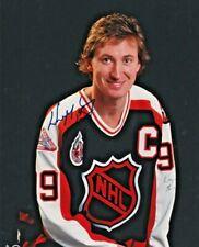 WAYNE GRETZKY AUTOGRAPHED 8x10 COLOUR PHOTO 1993 NHL ALL STAR GAME SIGNED COA