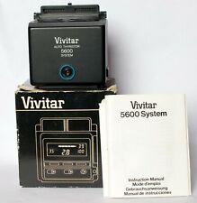 Vivitar 5600 flash body module only in box.