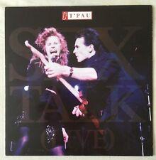 "T'PAU 12"" EP VINYL - SEX TALK (Live)"