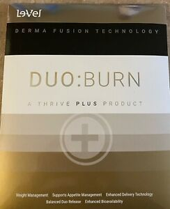 Thrive Duo Burn Patches Fat Burner/inch Loss ..10 Day Supply (gold/silver/black)