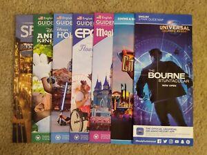Brand New 2021 Disney World & Universal Studios Theme Park Maps + Bonus!