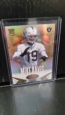 "MIKE DAVIS 2014 PANINI CERTIFIED  ""MIRROR GOLD"" ROOKIE #'rd 09/25 !! Nice  Rc !!"