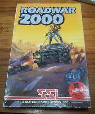Apple II IIe IIc Game - ROADWAR 2000 (SSI) Vintage 1986