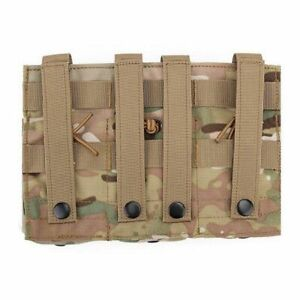 Double Triple Clip Bags Molle Tactical Magazine Pouches Airsoft Gear Tactics Ass