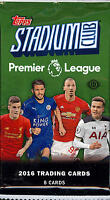 2016 Topps Stadium Club Premier League Soccer - Pick A Player