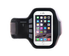 "Ultimate Negro Iphone 6 (4.7"") Brazalete Jogging Correr 38 cm Neopreno Transpirable"