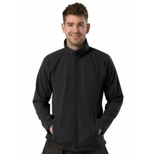 Black Active Soft shell Jacket, Size S to 8XL,  Gift/Present, Free Postage