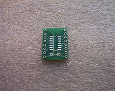 5x SMD Adapterplatine SO16 (1,27mm) / SOP16 (0,65mm) 'S' FR4-Industriequalität