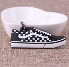 a7de082d60d7 Vans Old School Black   White Checkerboard Trainer Key chain Keyring  Sneakers