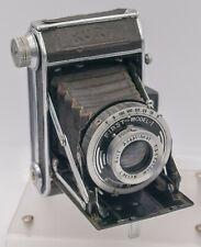 "Kuribayashi Petri ""Kuri"" 120 Film Folding Camera w/ First Model I Shutter AS-IS"