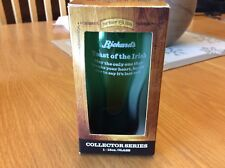 Rickard's Red, St. Paddy's Day Collector 12 Oz Beer Glass, NIB