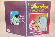 LES BIDOCHON N°11 MATIN MIDI ET SOIR BINET FLUIDE GLACIAL 1992 BD