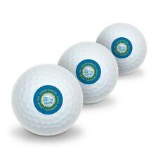 South Dakota State Flag Novelty Golf Balls 3 Pack