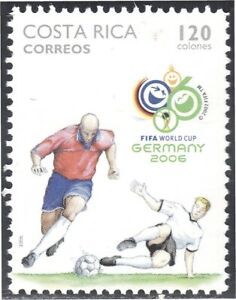 Costa Rica 790 2006 World Cup Football 2006 IN Alemania MNH