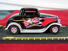 "1932 FORD COUPE CLASSIC TEAM DIE CAST CAR 4.75"" BLACK FLAME"