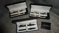 PIERRE CARDIN Pen & Mechanical Pencil Set with BONUS PDA STYLUS PEN   Lot 3 sets