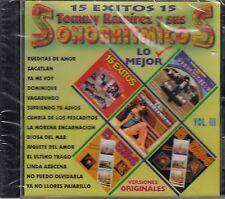 Tommy Ramirez y sus Sonorritmicos 15 Exitos Vol 3 CD New Nuevo sealed