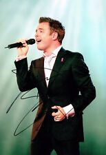 Shane FILAN Signed Autograph 12x8 Photo B AFTAL COA Irish Singer Westlife