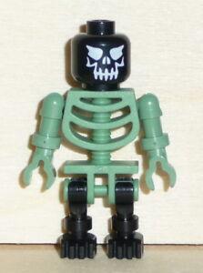 Nr.3529 Lego gen014 Minifig Harry Potter Skelett sandgrün / schwarz