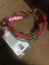 Adidas Eqt Oqular Lacrosse Goggles Red Adjustable Strap Bs4319 Nwt