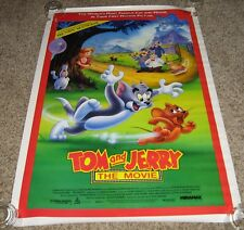 Tom And Jerry The Movie Poster Richard Kind Dana Hill Henry Gibson David Lander